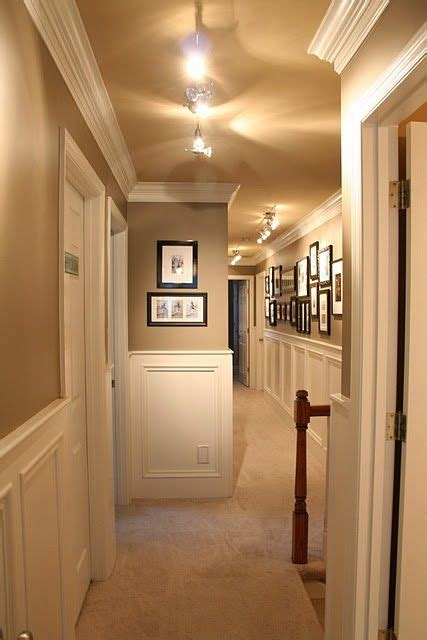 hallway colors painted ceilings hallways and moldings on pinterest