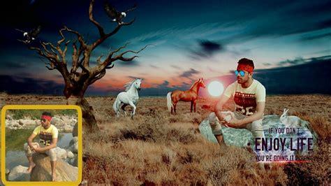 picsart fantasy tutorial picsart editing background change manipulation photoshop