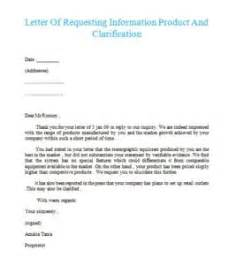 Feedback Letter Template Product And Clarification Samples Business Letters