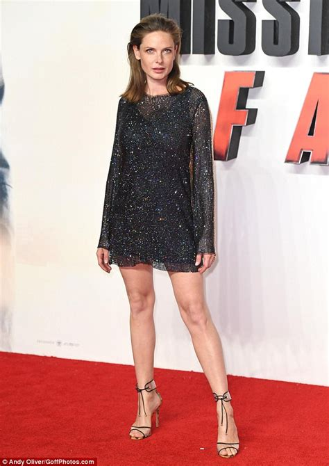 rebecca ferguson how old rebecca ferguson dazzles at mission impossible fallout
