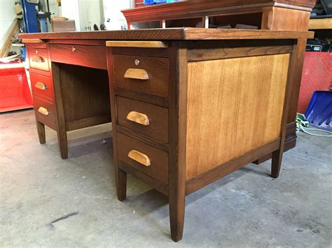 Refinishing An Desk by Completed Work 1 29 16 Bel Air Furniture Refinishing