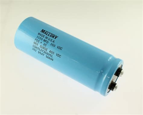 capacitor used in laptop cgh312t350v5l mallory capacitor 3 100uf 350v aluminum electrolytic large can computer grade