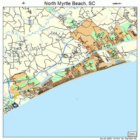 south myrtle beach sc map myrtle beach south carolina map bnhspine com