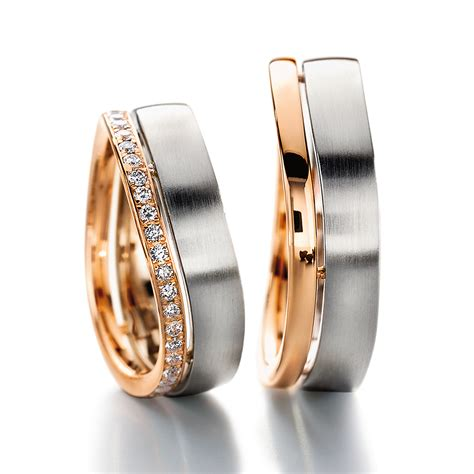 colored wedding rings wedding multi colored wedding rings white and furrer