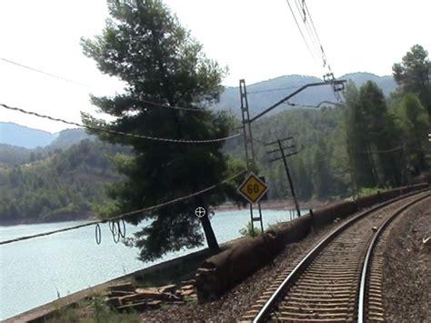 barcelona zaragoza train rail view tren de barcelona a caspe y zaragoza 2014 taringa