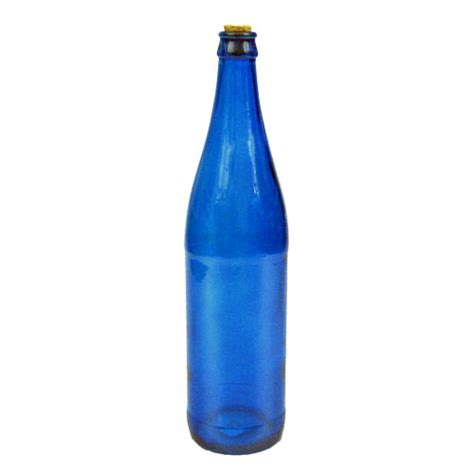 blue colored wine colored glass wine bottle with cork green blue orange