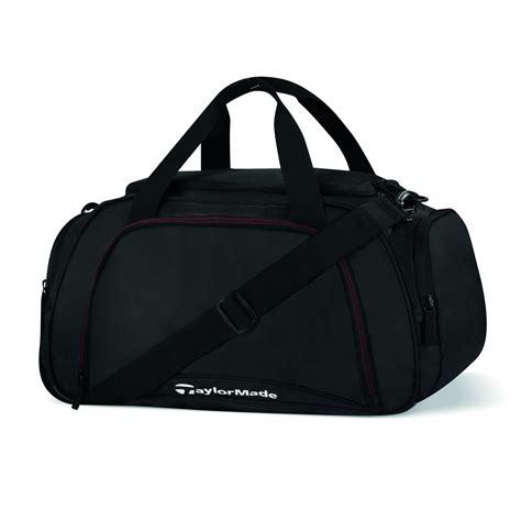 small duffle bag taylormade golf performance duffle bag small black ebay