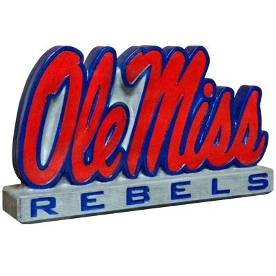 ole miss colors of mississippi ole miss logo statue