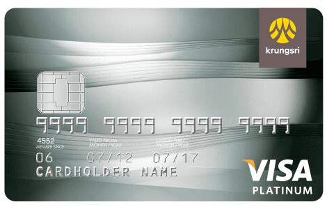 Krungsri Gift Card - krungsri visa platinum bank of ayudhya krungsri
