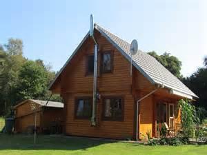 fjord haus massives blockhaus mit 94mm holzbohlen ferienhaus fjord