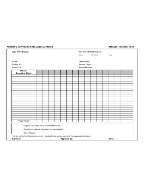 payroll correction form template william and human resources and payroll free