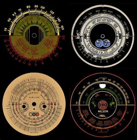 Radio Dials Printable Vintage Radio Tuning Dial Graphics Indiana Radios