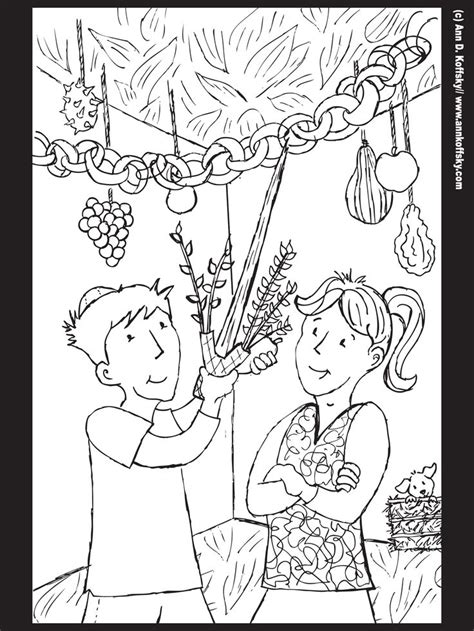 sukkot coloring pages free coloring pages of sukkot
