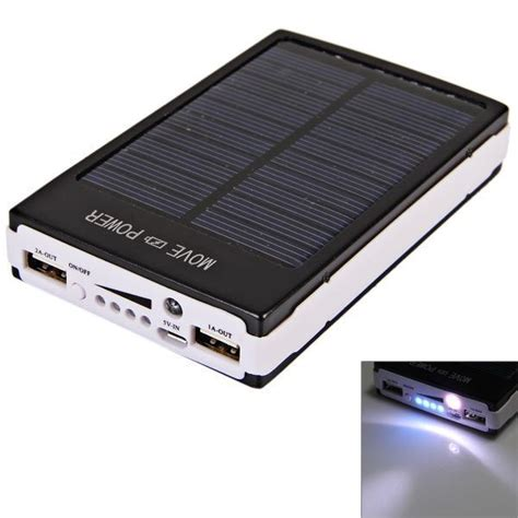 Power Bank Samsung Solar Cell 30000 mah dual usb portable solar panel power bank for iphone samsung s 4 lg gadget and tech