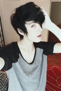 Galerry emo hairstyle boy short