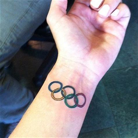 olympic rings small tattoo for photos of 2012 olympic swimmers tattoos are all here