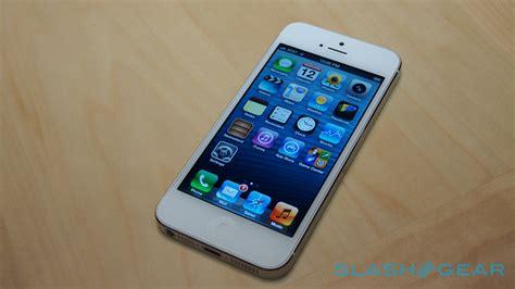 Apple Five iphone 5 on slashgear