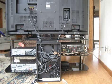 hide  wires  cables   tv  computer hide