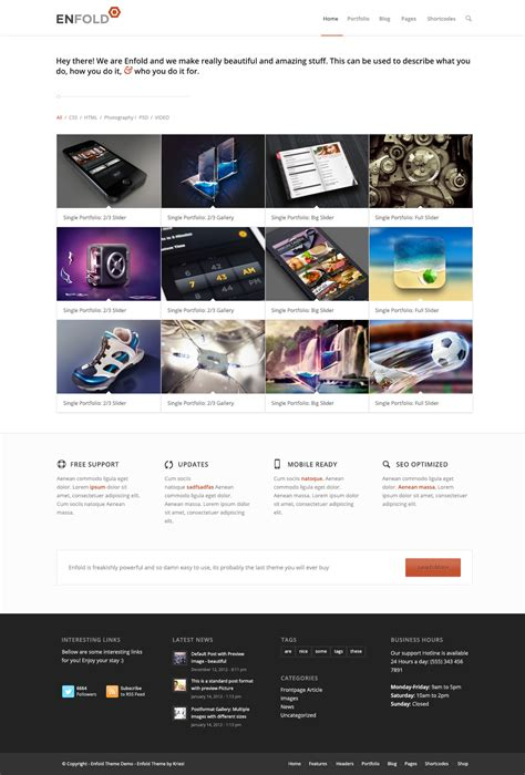enfold theme landing page enfold psd by kriesi themeforest