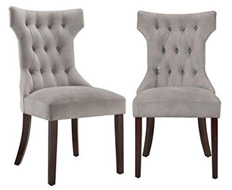taupe dining room chairs dorel living clairborne tufted upholestered dining chair