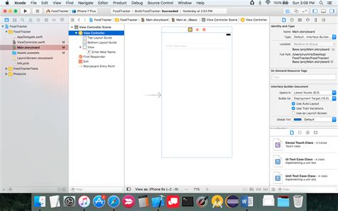 enable layout xcode how do i adjust my layout