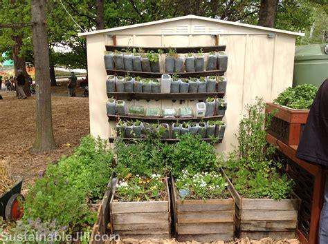 Vertical Food Garden Attractive And Productive Gardening Sustainable
