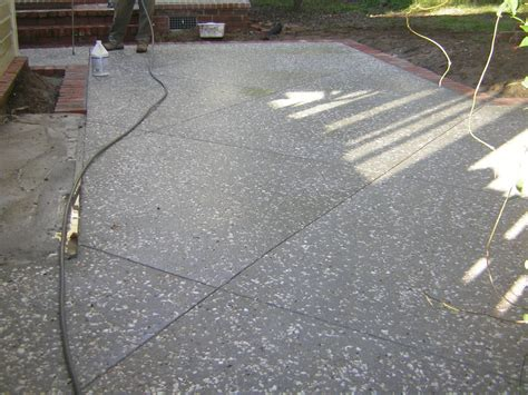 concrete finishes for patios awesome concrete patio finishes 10 concrete patio with expansion joints newsonair org
