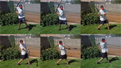baseball swing steps six steps to a sweet baseball swing be a better hitter