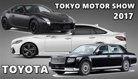 toyota motors japan toyota at tokyo motor show 2017 gr hv crown century