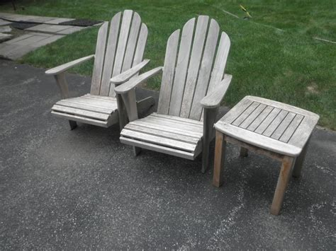 Wooden Patio Chair Pressure Cleaning Outdoor Furniture Westchester Power Washing