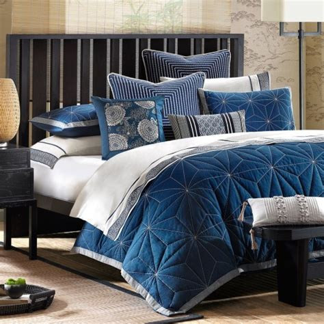 indigo blue bedding 11 cool heavenly blue comforters for a peaceful bedroom