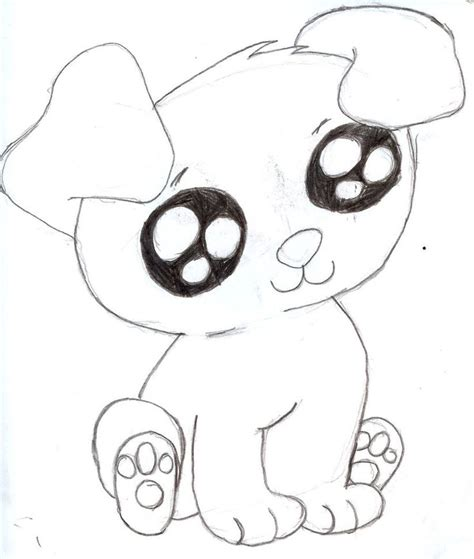 puppy drawing cute google search baby stuff