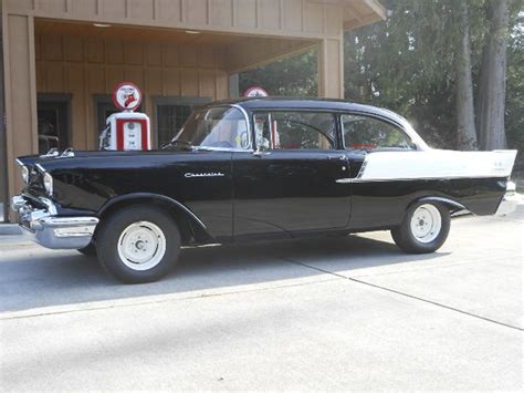don chevrolet don colbeth s beautiful 1957 quot black widow quot road cruiser