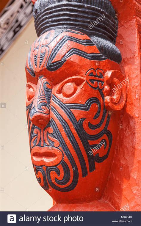 carving tattoo marae maori stock photos marae maori stock images alamy