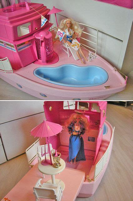 barbie pool boat barbie dream boat carefree wild days of my youth
