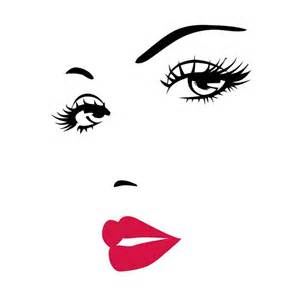 marilyn monroe face clip art pictures to pin on pinterest