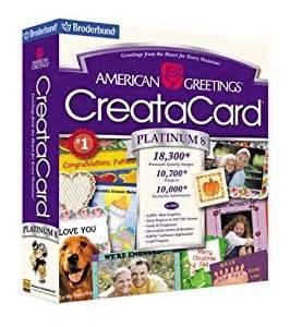 american greetings creatacard platinum 8 version