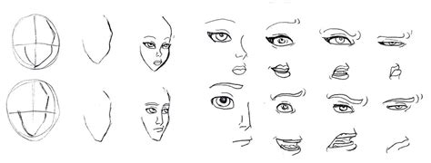 anime eyes nose tutorial eyes nose mouth by lily pily on deviantart