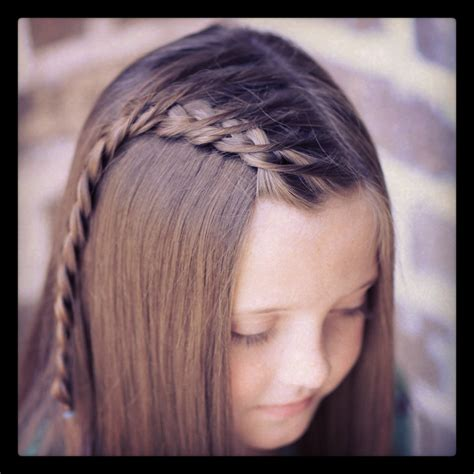 easy hairstyles not braids how to create a crossover dutch braid cute girls hairstyles