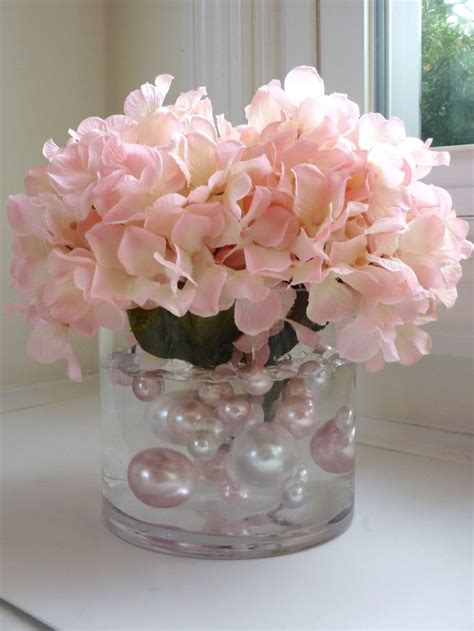 25  best ideas about Water pearls centerpiece on Pinterest