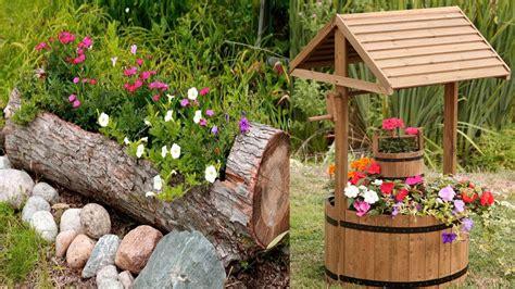 unique outdoor planters unique wooden flower planter ideas outdoor planters