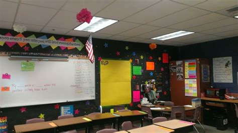 Middle School Classroom Decorating Ideas by Middle School Neon Decoration Classroom Displays