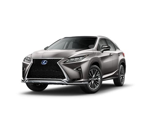 2017 Atomic Silver F Sport Lexus Rx 450h For Sale In San