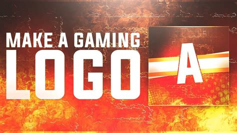 gaming logoprofile picture  photoshop cc