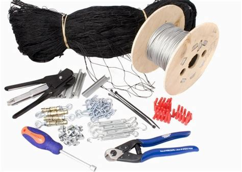 Knotted Rope Intl seagull net kits with optional tools uk intl no
