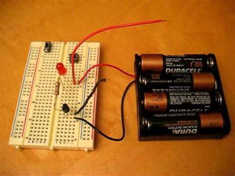 simple npn transistor ic  youtube