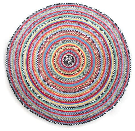 Kid Rugs Crayon Braided Rug 6 Mackenzie Childs