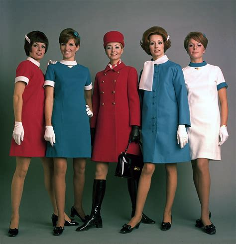 Flight Attendant Fashion by Mod Set 1960s Uniforms Of Air Canada Take Flight