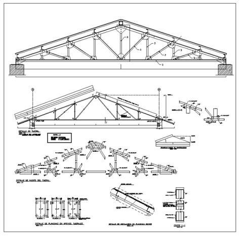 structural layout of industrial building cad blocks of steel structure design of steel frame