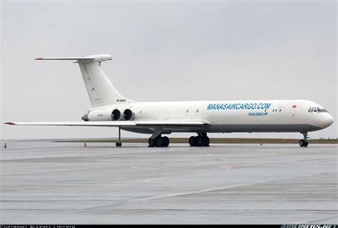 ilyushin il mgr manas air cargo aviation photo  airlinersnet